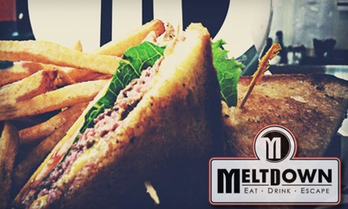 Meltdown Grille and Bar - Winston-Salem: $10 for $20 Worth of Upscale Bar Fare at Meltdown Grille and Bar