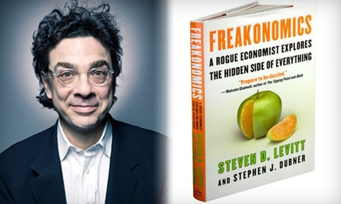 "Temple Israel - East Isles: $15 for Lecture and Book Signing from Stephen J. Dubner, Best-Selling Co-Author of ""Freakonomics,"" at Temple Israel ($36 Value)"