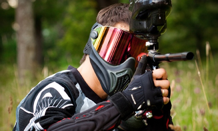 i70 Paintball and Airsoft - Huber Heights: $17 for a Paintball Outing for One with Admission, Gear, and 500 Paintballs at i70 Paintball and Airsoft in Huber Heights ($35 Value)