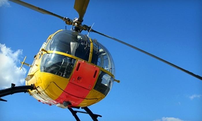 Hollywood Helicopter Tours - North Hollywood: $99 for a 30-Minute Hollywood Helicopter Experience from Hollywood Helicopter Tours ($179 Value)