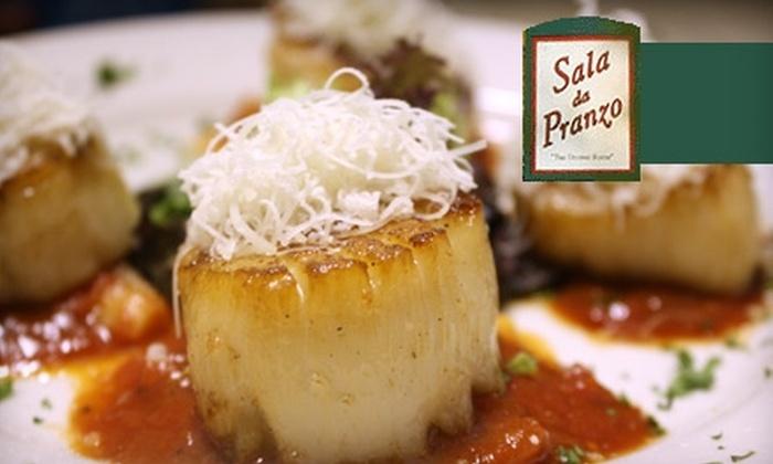 Sala Da Pranzo - Donner Woods: $15 for $35 Worth of Italian Fare at Sala Da Pranzo