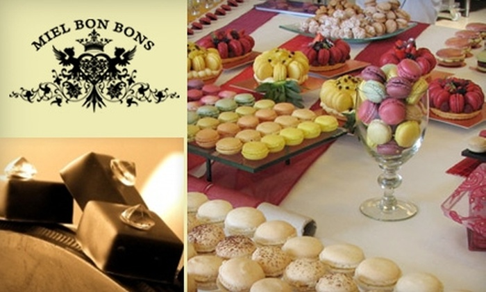 Miel Bon Bons - Raleigh / Durham: $10 for $24 Worth of Artisan Chocolates and Gourmet Baked Goods at Miel Bon Bons in Carrboro