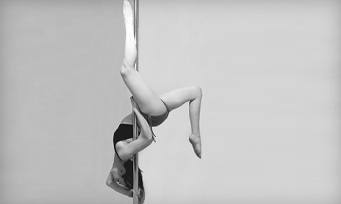 PoleFit Canada - Winnipeg: $39 for Five Introductory Pole-Fitness Classes and One Cardio Class at PoleFit Canada ($157.50 Value)
