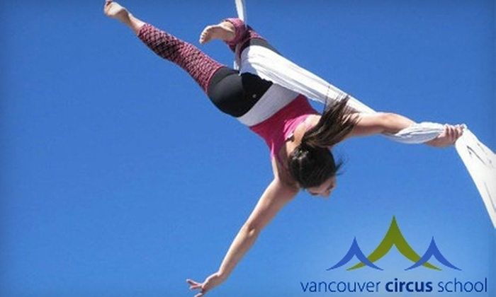 Vancouver Circus School - Downtown: $15 for Intro to Circus Class at Vancouver Circus School (Up to $30 Value) in New Westminster