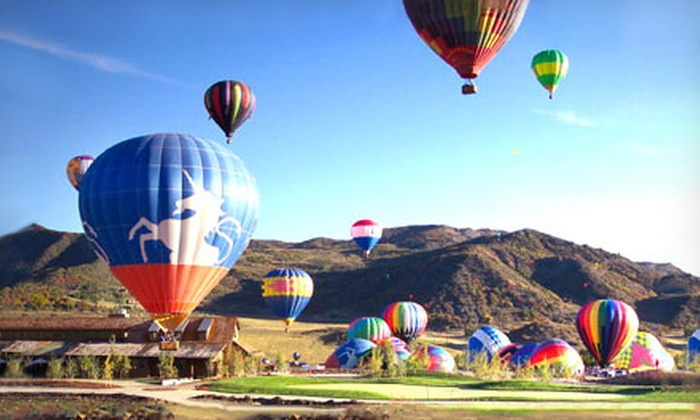 Adventures Out West - Tatum Ranch: Sunrise Hot Air Balloon Flight for One, Two, or Four from Adventures Out West (Up to 49% Off)