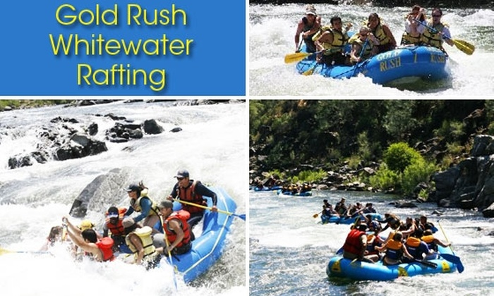 Gold Rush Whitewater Rafting - North El Dorado: $50 for a Gold Rush Whitewater Rafting Adventure