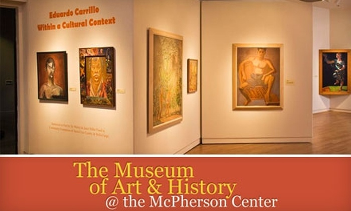 The Museum of Art and History - Downtown Santa Cruz: $20 for a One-Year Membership to the Museum of Art and History ($40 Value)