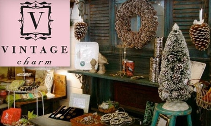 Vintage Charm - La Grange: $30 for $60 Worth of Clothing, Furniture, and Home Accessories at Vintage Charm in La Grange
