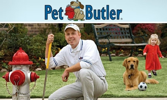 Pet Butler - Phoenix: $19 for 4 Weeks of Pet-Waste Cleanup from Pet Butler