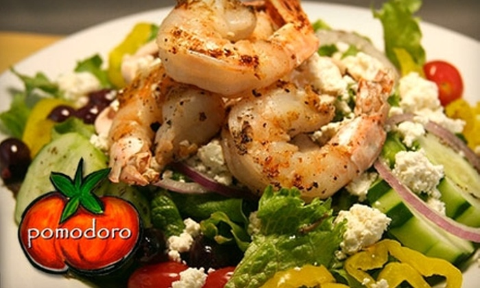 Pomodoro Grill and Wine Bar - East Avenue: $15 for $30 Worth of Pizza and Italian Cuisine at Pomodoro Grill and Wine Bar