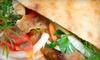 Pita Pan - Astoria: 5- or 10-Pita Punch Card for Pita Sandwiches at Pita Pan in Astoria (Up to 58% Off)