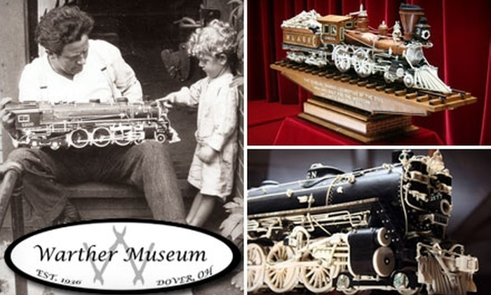 Warther Museum - Dover: $6 Admission to the Warther Museum (Up to $13 Value)