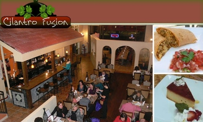 Cilantro Fusion  - Central Business District: $10 for $25 Worth of Mexican Cuisine from Cilantro Fusion