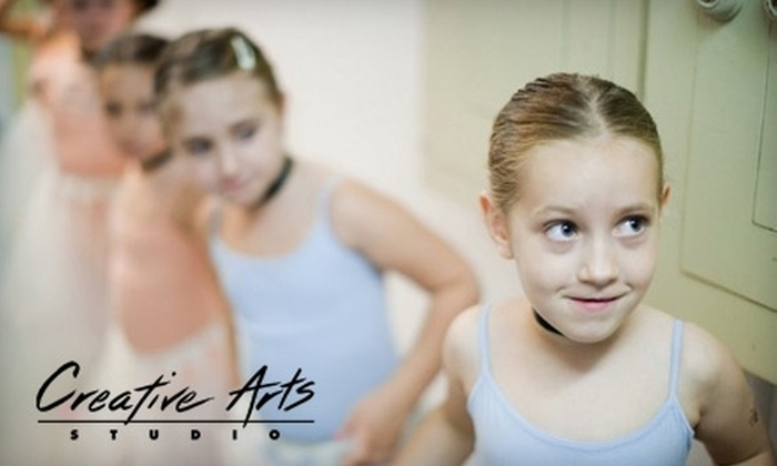 Creative Arts Studio Ny - Columbia Street Waterfront District: $90 for a 12-Week Kid's Session ($180 Value), $170 for a Four-Day Winter-Camp Session ($345 Value), or $199 for a One-Week Summer-Camp Session ($450 Value) at Creative Arts Studio.