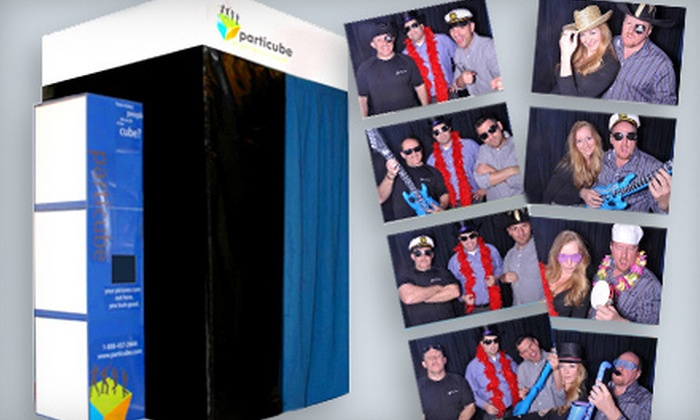 Particube Photobooths & Entertainment - Philadelphia: Three- or Four-Hour Photo-Booth Rental with Props and Surround Sound, Plus Prints and USB Drive with Images from Particube Photobooths & Entertainment (Up to 56% Off)