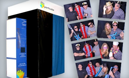 3-Hour Photo-Booth Rental Including a USB Drive with All of the Images - Particube Photobooths & Entertainment in