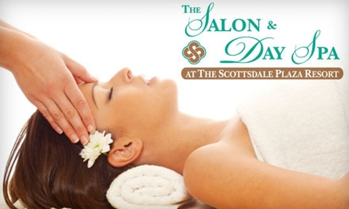 The Scottsdale Plaza Resort - Paradise Valley: $30 for $60 Worth of Spa Services at The Salon & Day Spa at The Scottsdale Plaza Resort