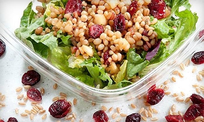 Litestars - Dupont Circle: $5 for $10 Worth of Tartlets, Gourmet Salads, Soupdrinks, and More at Litestars