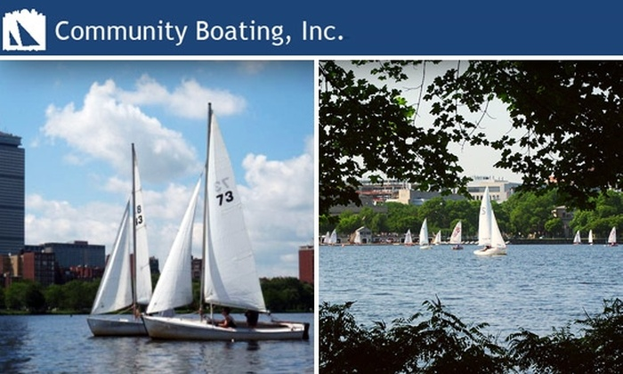 Community Boating, Inc - Beacon Hill: $59 for a 30-Day Intro to Sailing and Kayaking with Community Boating ($99 Value)