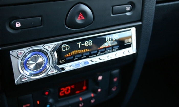 Gold Star Audio - Irvine: $99 for Sony In-Dash Car Stereo Including Installation Service and $30 Worth of Installation Parts at Gold Star Audio in Irvine (Up to $258 Value)