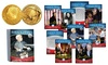 President Barack Obama 44-Card Commemorative Set: President Barack Obama 44-Card Commemorative Set with Foil Inauguration Cards and 2009 $50 Goldine Buffalo Proof Coin