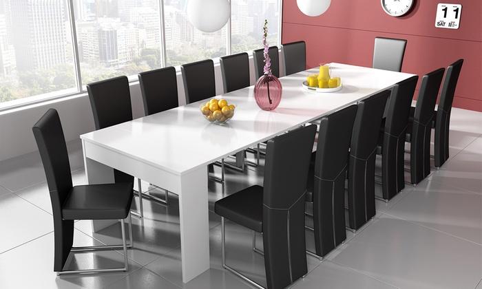 Mesa extensible para 14 personas  Groupon Goods