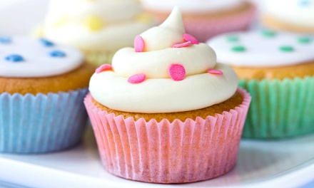 One or Two Dozen Cupcakes at L's Bakery (46% Off)