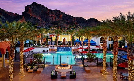 Groupon Deal: Stay at Omni Scottsdale Resort & Spa at Montelucia in Scottsdale, AZ; Dates Available into September