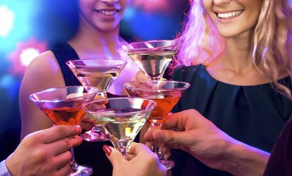 Fish Bowl Cocktails, Pool, and Hookah at SkyLine Bar & Lounge (Up to 55% Off). Two Options Available.