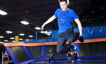 $15 for One Two-Hour Jump Pass with SkySocks at Skyzone ($30 Value)
