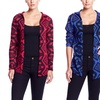 Blue Heart Women's Aztec Cardigan Sweater