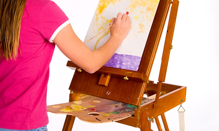 Hero's the Party Experience - Beverly-Harvard: Two-Hour Painting Class and Indoor Playtime for One or Two Children at Hero's the Party Experience (51% Off)