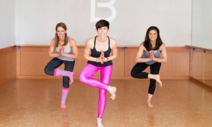 Barre3 : Four Barre Fitness Classes or Two Months of Unlimited Barre Fitness Classes at Barre3 (Up to 57% Off)