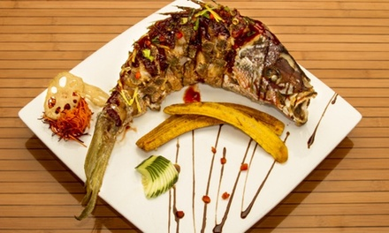 $29 for $50 Worth of Pan-Asian Cuisine and Drinks at Nanking Asian Grill
