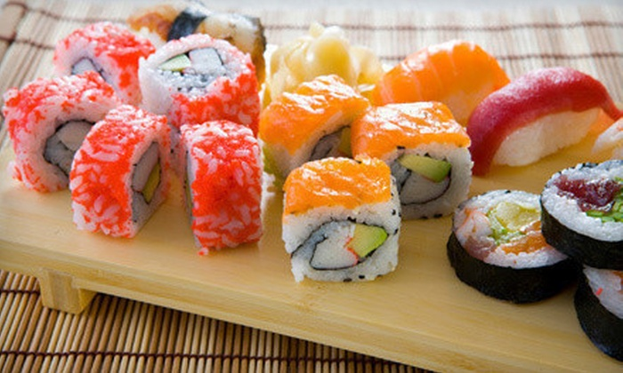 Onoki Sushi Bar - Second Ward: Sushi and Japanese Cuisine at Onoki Sushi Bar (50% Off). Two Options Available.