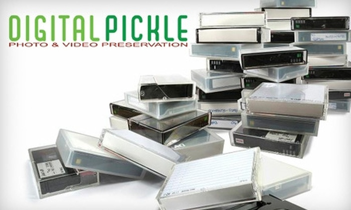 Digital Pickle - Old Pasadena: $39 for $90 Worth of VHS to DVD Conversion from Digital Pickle