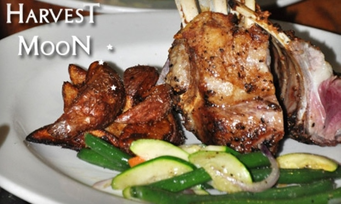 Harvest Moon Restaurant - Modesto: $12 for $24 Worth of American Fare and Drinks at Harvest Moon Restaurant