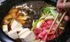 Tomoya Japanese Restaurant - Larentian West: Shabu-Shabu Hot Pot Dinner for Two or Four at Tomoya Japanese Bistro & Bar (Up to 56% Off)