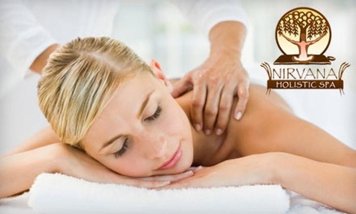 Nirvana Holistic Spa - Washington DC: $66 for an On-Site Therapeutic Massage from Nirvana Holistic Spa ($120 Value)