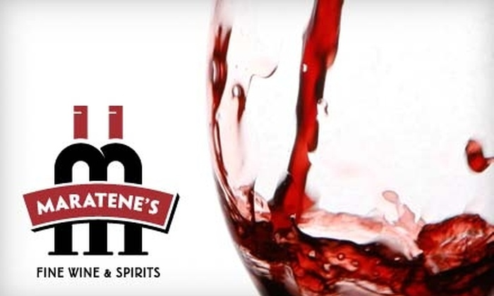 Maratene's Fine Wine and Spirits - Waldwick: $10 for $20 Worth of Wine at Maratene's Fine Wine and Spirits