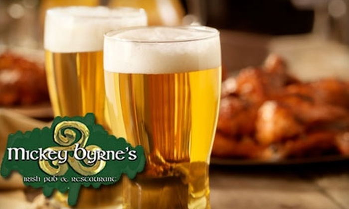Mickey Byrne's Irish Pub and Restaurant - Royal Poinciana: $7 for $15 Worth of Pub Fare and Drinks at Mickey Byrne's Irish Pub and Restaurant