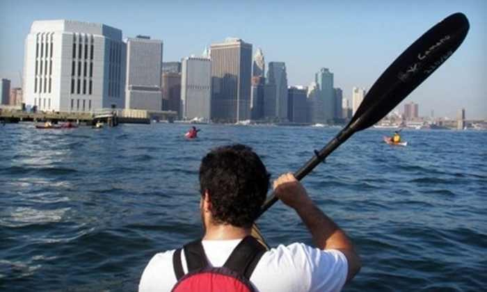 Manhattan Kayak Company - Chelsea: Paddling Classes and Hudson River Tours from the Manhattan Kayak Company. Three Options Available.