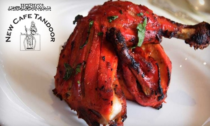 New Cafe Tandoor - Hanover Place: $15 for $30 Worth of Indian and Pakistani Cuisine and Drinks at New Cafe Tandoor