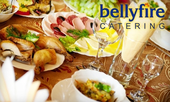 Bellyfire Catering - Moraine: $16 for a Prepared Meal for Two from Bellyfire Catering ($35 Value)