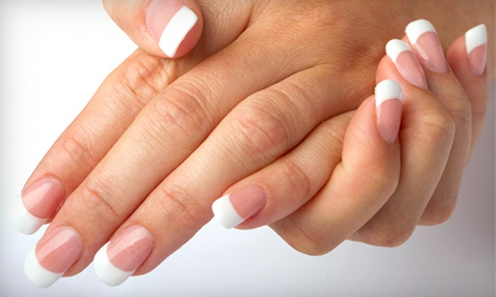 SeriouSkin - Pittsford: One or Three Spa Manicures at SeriouSkin in Pittsford (Up to 57% Off)