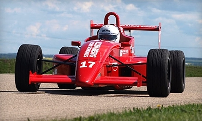 Allen Berg Racing Schools - Calgary: Two-Hour Formula Race Car Experience at Allen Berg Racing Schools. Six Dates Available.