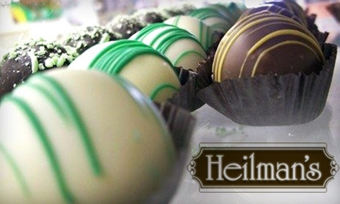 Heilman's Nuts & Confections - Westnedge Hill: $10 for $20 Worth of Nuts, Chocolate, and More from Heilman's Nuts & Confections