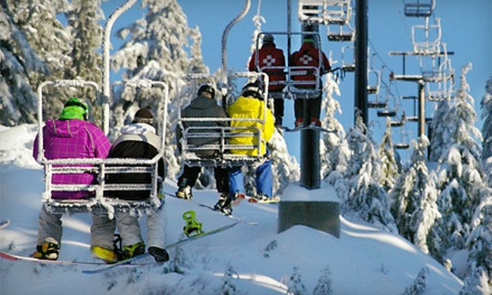 Mt. Seymour Resorts - North Vancouver: Adult Lift Ticket or Full-Day Snowshoe Outing at Mt. Seymour Resorts (Up to 57% Off)