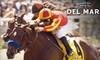 Del Mar Thoroughbred Club (DMTC Racetrack) - Del Mar: $10 for Two Clubhouse Tickets ($20 Value) or $59 for a Four-Top Table and Four Admissions for Labor Day ($124 Value) at Del Mar Thoroughbred Club Racetrack
