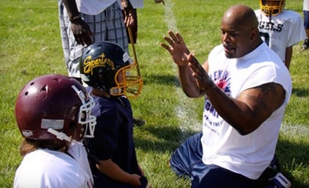 Sports International Football Camps at Baltimore Lutheran School: Le'Ron McClain Two-Day Football Camp from July 1819, an Autograph Football, and a T-shirt - Sports International Football Camps in Towson